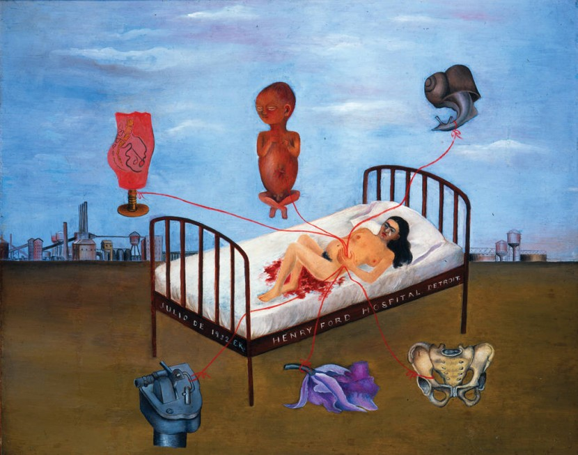 Henry Ford Hospital - Frida Kahlo - 1932